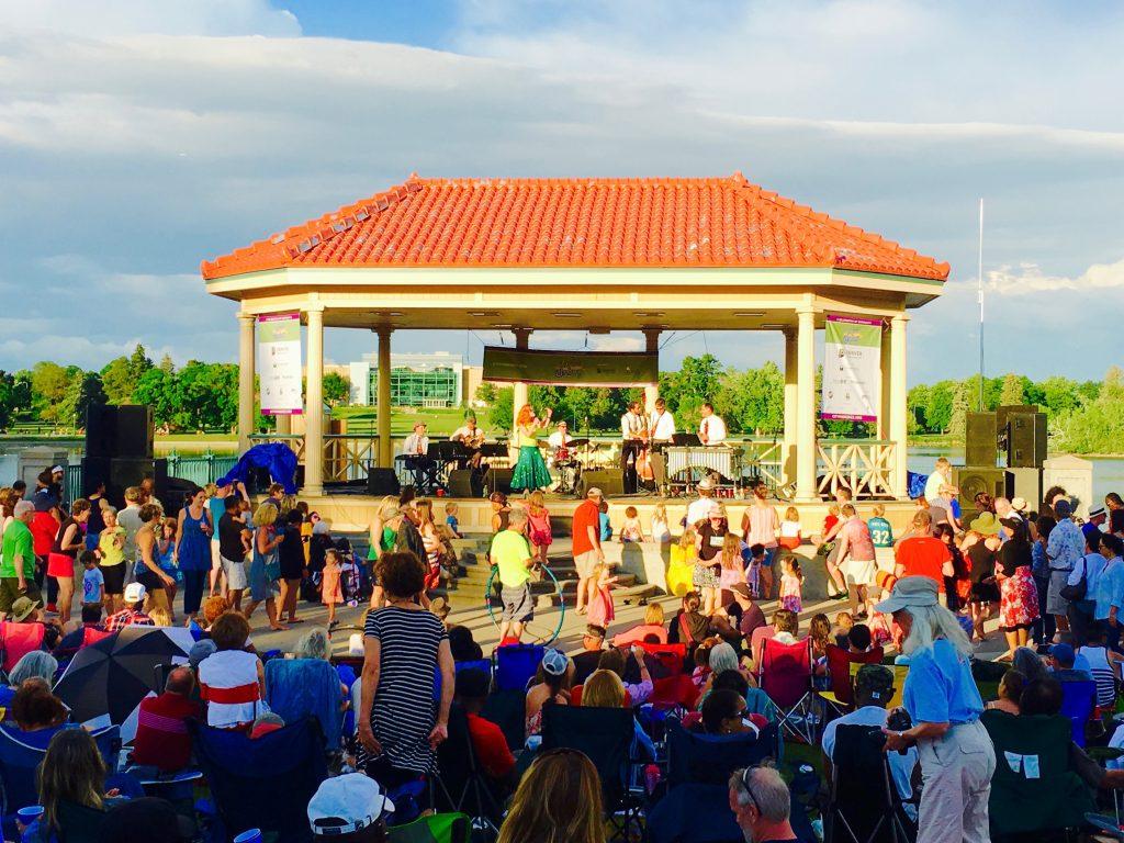 City Park Jazz Stage