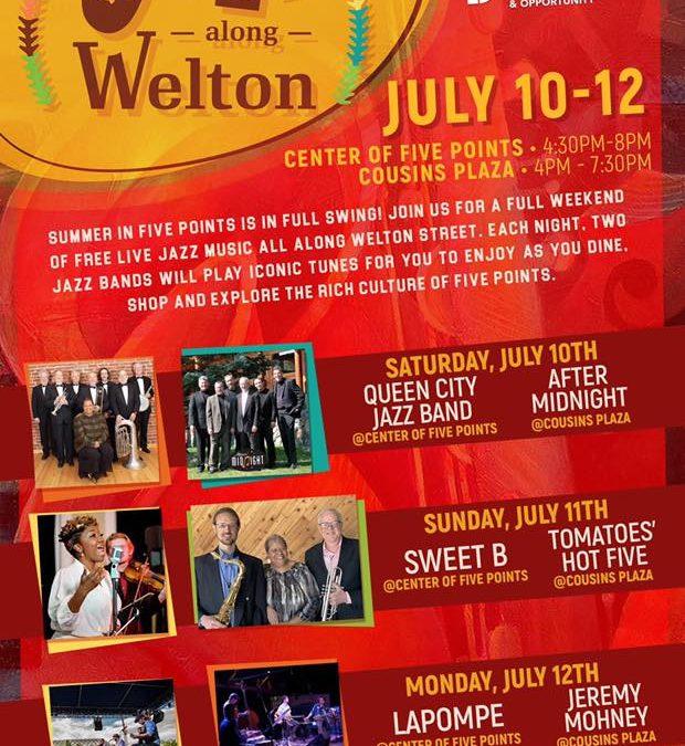 Five Points Jazz Along Welton